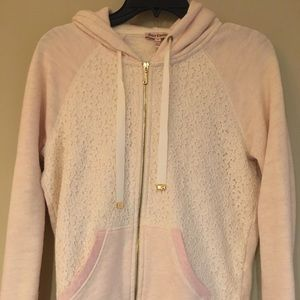 Lace Juicy Couture Hoodie Size Medium